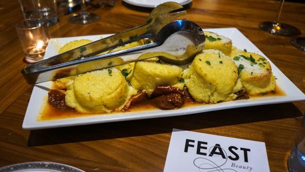 Polenta from FEAST Beauty