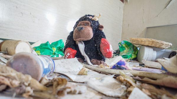 Toy Found inside an Abandoned House
