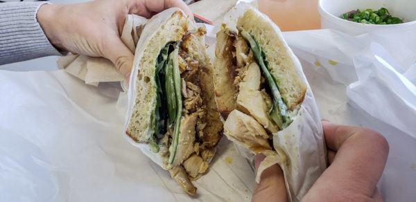 Chicken Sandwich at Duncan Street