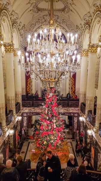 Heinz Hall at Christmas