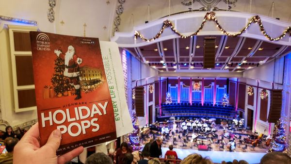 Holiday Pops at Pittsburgh Symphony