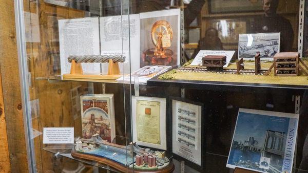 John Roebling Factory Artifacts