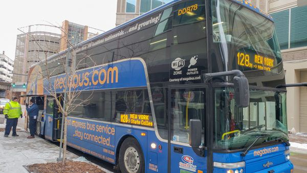 Pittsburgh Megabus to New York City