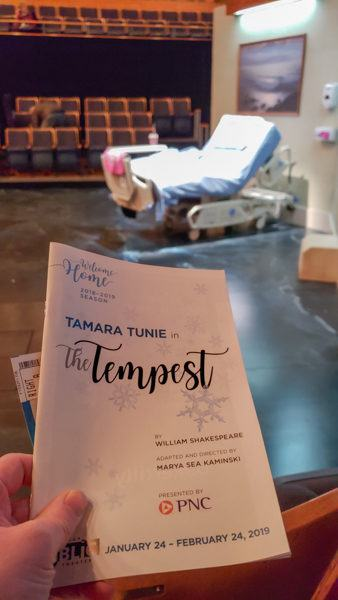 The Tempest by the Pittsburgh Public Theater