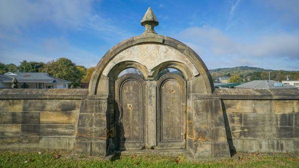 Harmonist Cemetery in Harmony