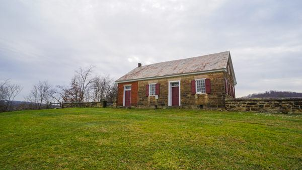 Mennonite Meetinghouse in Harmony