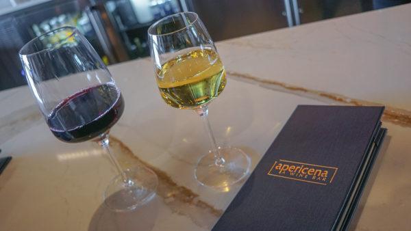 Wine at Apericena Pittsburgh