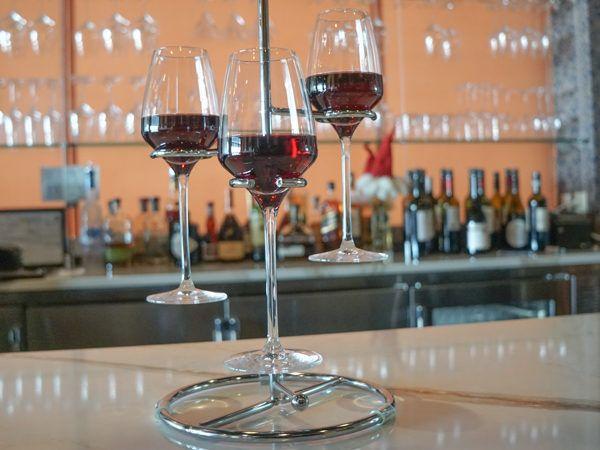 Wine Flight at Apericena Wine Bar