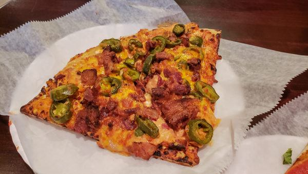 Jalapeno Popper Pizza at City Oven Pittsburgh