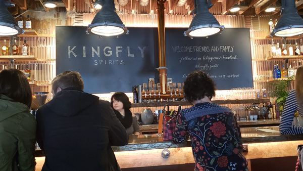 The Bar at Kingfly Spirits