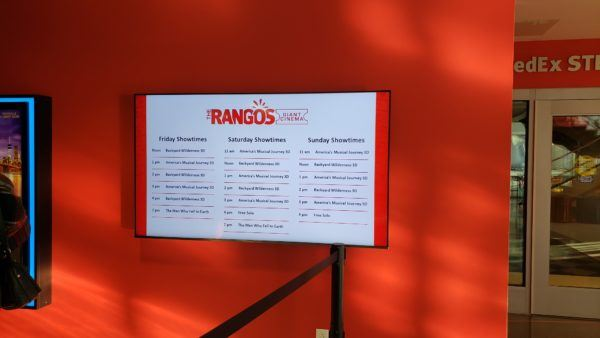 Movies at the Carnegie Science Center