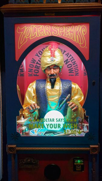 Zoltar Machine at Liberty Magic