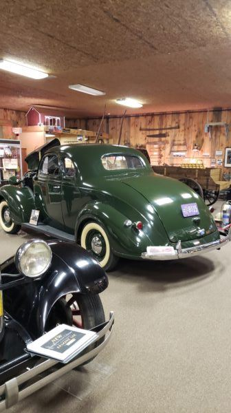 Historical Cars at the Saxonburg Museum