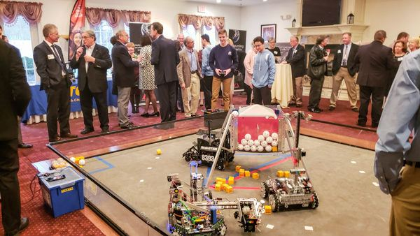 Robotics Demonstration by Local High School Students