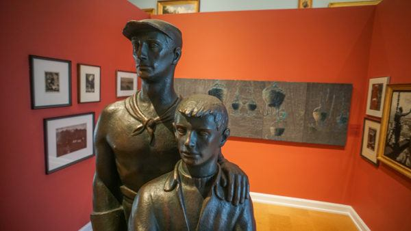 Steelworker Statue at the Westmoreland Museum