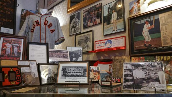 Stan Musial at Donora Historical Society