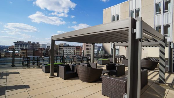 Patio at Drury Plaza Pittsburgh