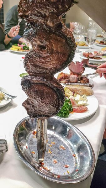 Meat Offerings at a Brazilian Churrascaria