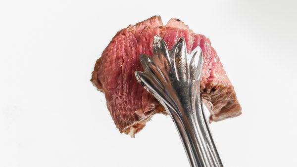 Medium Rare Steak at Fogo de Chao Pittsburgh