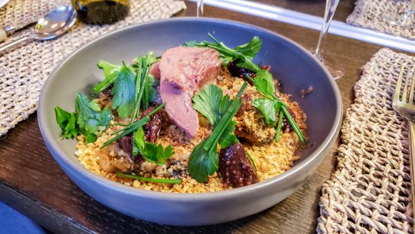 Lamb Tongue and Pork Cheek Cassoulet