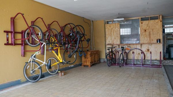 Bike Storage at South Side Traveler's Rest