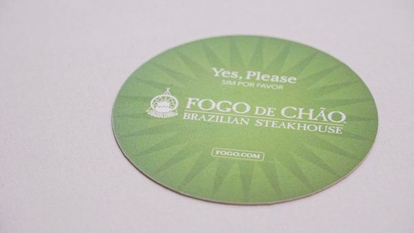 Go for Green at Fogo De Chao Pittsburgh