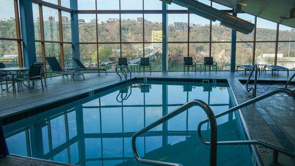 Pool at Wyndham Pittsburgh Downtown