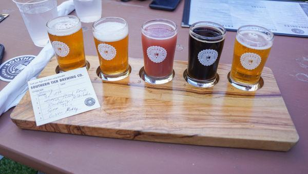 Beer Flight at Southern Tier Pittsburgh