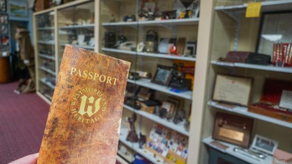 Passport at the Latrobe Heritage Society