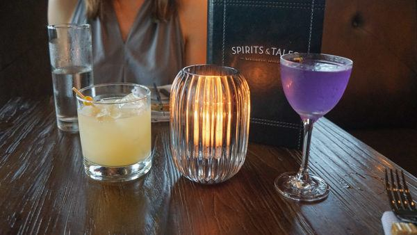 Cocktails at Spirits & Tales Pittsburgh