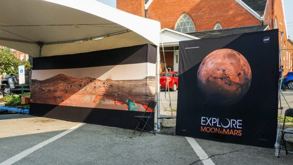 Mars Exploration Days Exhibit