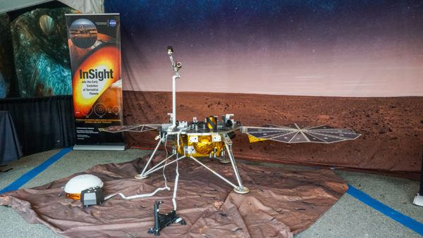 Martian Rover at Mars Exploration Days