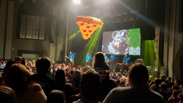 Aquabats in Pittsburgh at the Roxian Theater