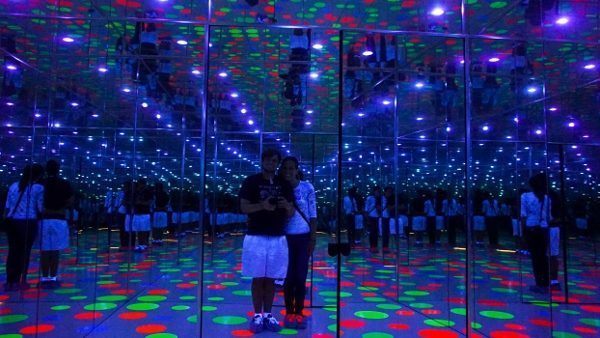 The Mattress Factory Infinity Dots Room