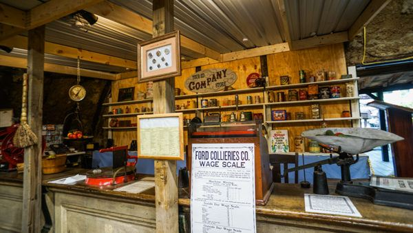 Example General Store at Tour-Ed Museum