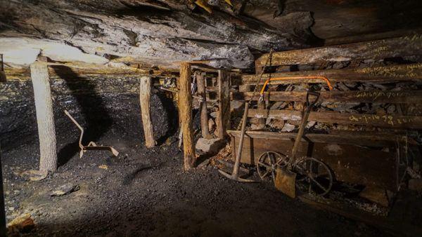 1800s Coal Mining Exhibit
