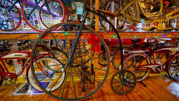 Bicycle Heaven is a wonderful Pittsburgh Museum