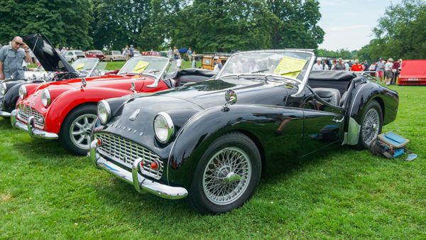 Classic Cars at the Pittsburgh Vintage Grand Prix