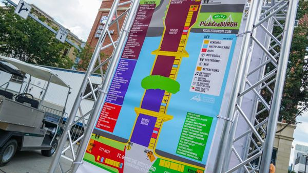 Picklesburgh 2019 Map
