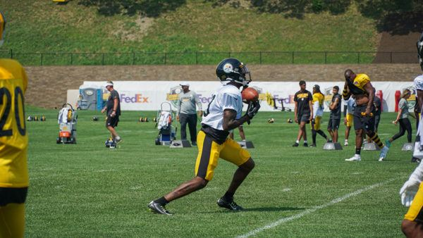 Steelers Training Camp Practice