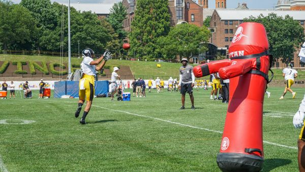 Steelers Training Camp Practice