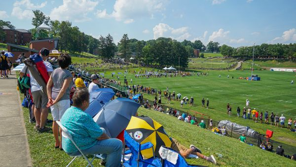 Steelers Training Camp Public Seating