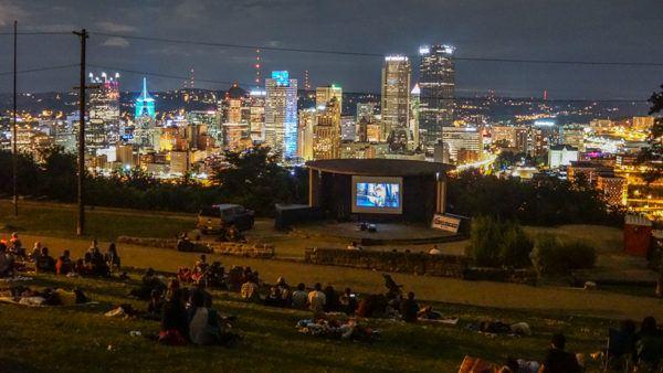 Cinema in the Park Grandview Park