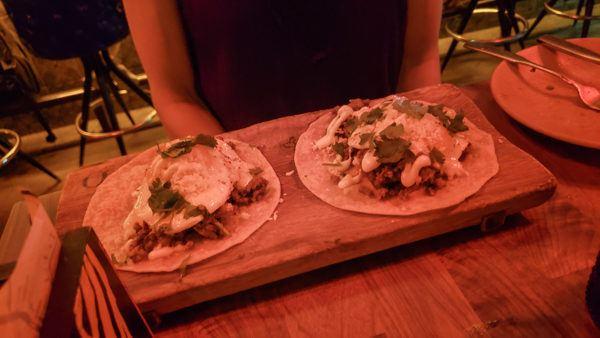 tacos at tako