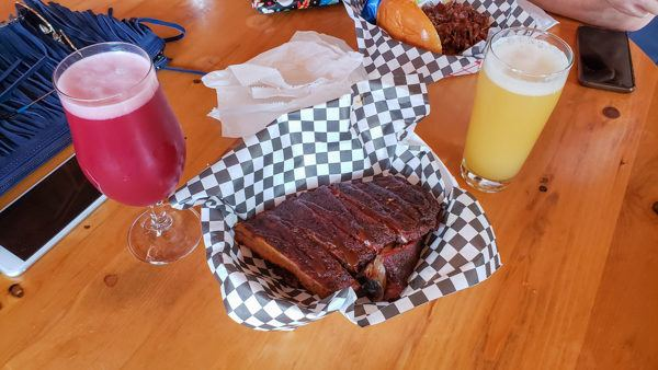 Barbecue and Beer - A perfect combo at the Millvale Food Truck Roundup