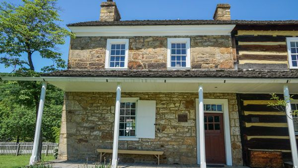 Compass Inn Museum in the Laurel Highlands