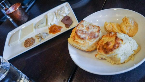 Biscuits and Cheese Plate at The Fairlane PGH