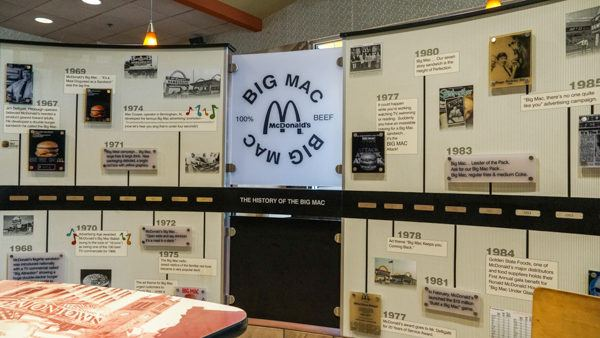 Big Mac Museum Exhibit in Pittsburgh