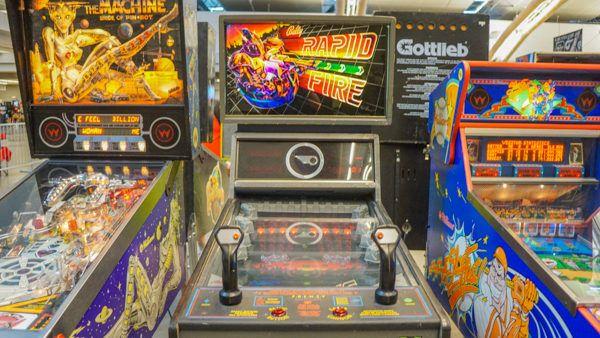 Pinball Machines at Replay FX
