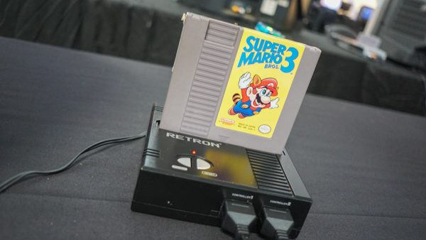 Getting some Super Mario Bros. 3 time in.